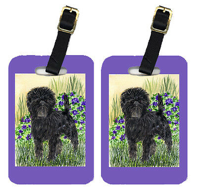 Carolines Treasures  SS8151BT Pair of 2 Affenpinscher Luggage Tags