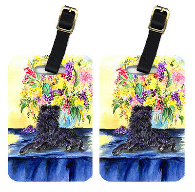 Carolines Treasures  SS8296BT Pair of 2 Affenpinscher Luggage Tags