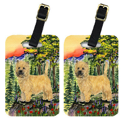 Carolines Treasures  SS8229BT Pair of 2 Cairn Terrier Luggage Tags