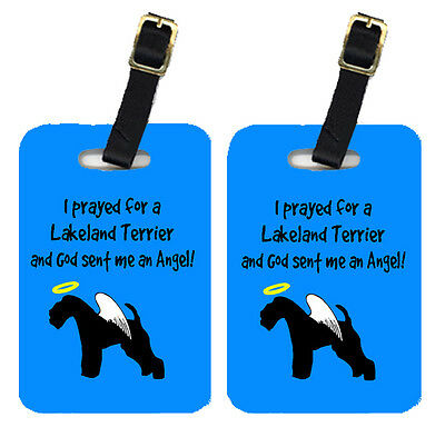 Carolines Treasures  AN1044BT Pair of 2 Lakeland Terrier Luggage Tags