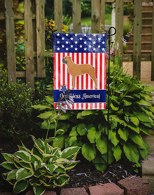 Carolines Treasures  BB3371GF USA Patriotic Bullmastiff Flag Garden Size