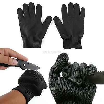 Men Gloves Stainless Steel Fillet Cut Resistant Anti-Slash Mitten Worker Gloves