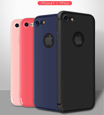 For Apple iPhone 8 / 7 / 8 Plus / 7 Plus Case Silicone Clear Cover Bumper