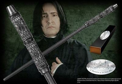 Harry Potter :  PROFESSOR SEVERUS SNAPE Character Wand from The Noble Collection