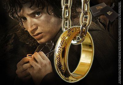 Lord of The Rings : THE ONE RING from The Noble Collection NN0903