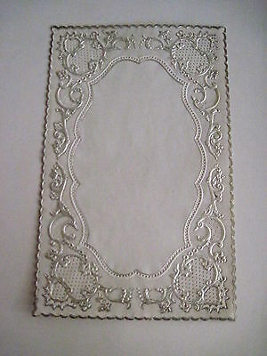 Vintage Antique Victorian Lace Sheet For Making Valentines or Other Crafts *