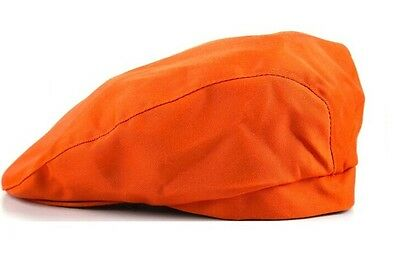 Big save Orange Cafe Attendant Hat Men's and Women's Chef Beret Hat Free Ship