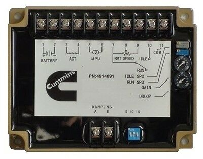 New Electronic Speed Controller 4914091 For Cummins Generator Parts