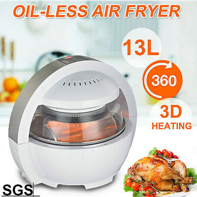 13L Air Fryer LCD Digital Multifunctional Oil Free Low Fat Healthy Cooker New