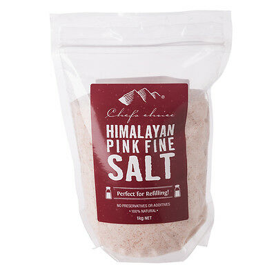 NEW Chef's Choice Himalayan Pink Fine Salt 1kg