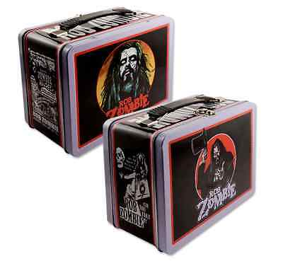 Rob Zombie Vintage Style Tin Lunch Box NEW RARE!!!