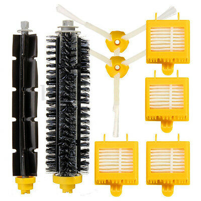 3 arm Filters Side Brush Hepa Kit for iRobot Roomba Vacuum 700 760 770 780 Parts