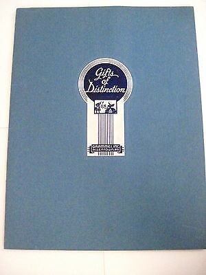 "Vintage 1936 Art Deco Era Catalog ""Grammes, Inc."" Gifts of Distinction *"