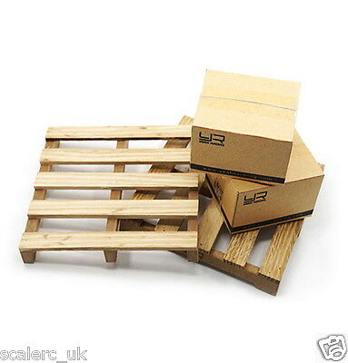 1/10 RC Crawler Truck Accessory Wooden Loading Pallet