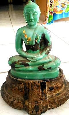 Outstanding Carved Jade Buddha Statues Antiques Thai Amulets Rare