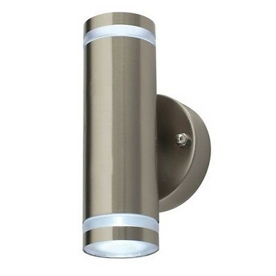 LED Up Down Garden Outdoor Outside Driveway Waterproof Wall Light Lamp Fitting