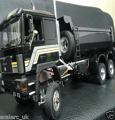 1/14 Hydraulic Dump Truck 8*8 / Body (Wedico1/16) (Viscount)