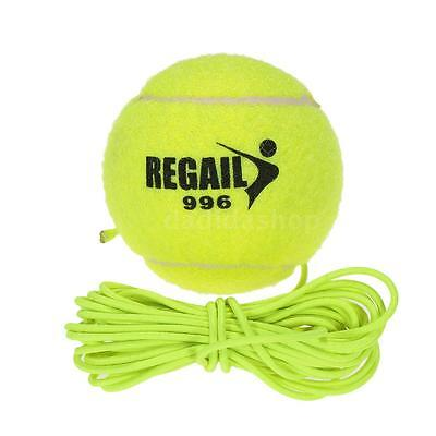 New Training Tennis Ball Dog Dogs Cat Kitty Tool + String Vintage M2W6