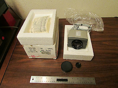 Vicon V12.5-75AC-4 Video Camera NOS
