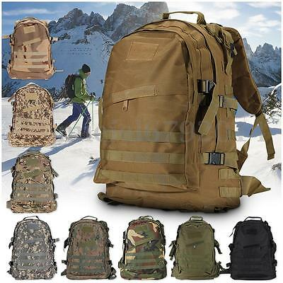 50cm 40L Molle 3D Tactical Outdoor Military Rucksack Backpack Bag Camping Hiking