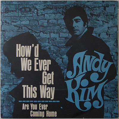 Andy Kim - How 'd We Ever Get This Way - Frankreich 1968 - VG++