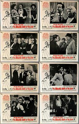 The Wrong Arm Of The Law - Peter Sellers - Original American Lobby Card Set