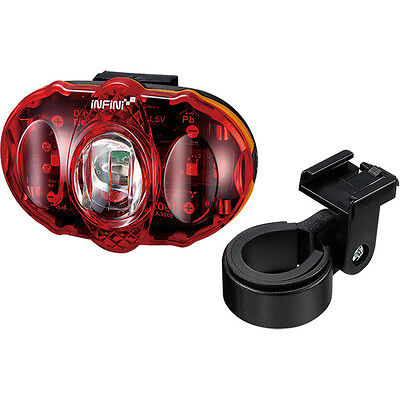 INFINI Vista 3 LED rear light, with batteries and bracket