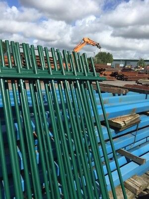 Steel Fence Panels,security Fencing, School Railings,park Railings 2700mm Wide x