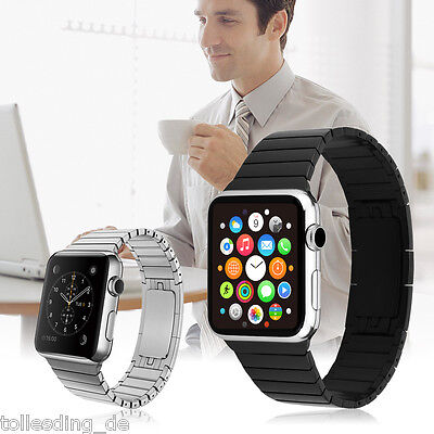 Replacement Stainless Steel Strap Band With Clasp for Apple Watch iWatch 38/42mm