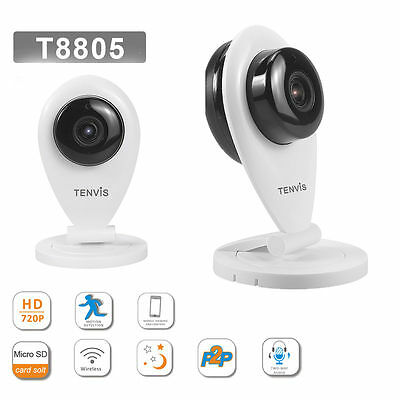 HD 720P WiFi Wireless IP CCTV Camera Home Security Network Night Vision System