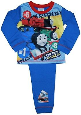 Boys Paw Patrol Thomas The Tank Engine Pyjamas 18 24 Month 2 3 4 5 Years