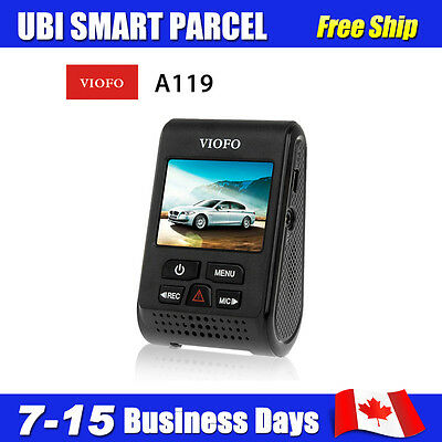 VIOFO Rotatable A119 Capacitor Novatek96660 OV4689 4MP 2K Car Dash Camera HOT