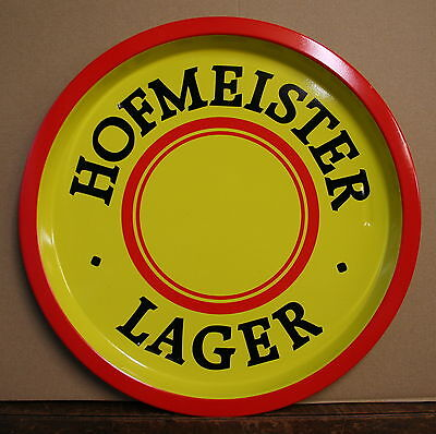 HOFMEISTER LAGER Vintage 1970's  Advertising Pub Bar Beer drinks tray Retro