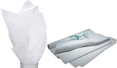 """480 Sheets Solid White Tissue Paper Ream 20"""" x 30"""" - CH92202"""