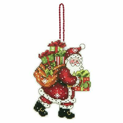 Dimensions - Cross Stitch Kit - Christmas Ornaments - Santa with Bag - D70-08912