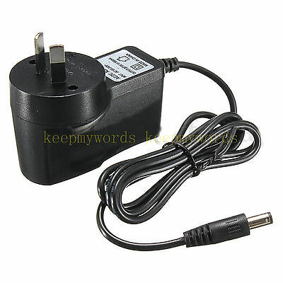 AC 100-240V Adapter DC 12V 1A Switching Power Supply 1000mA AU plug 5.5mm x 2.1m