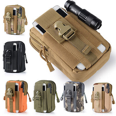 Military Tactical Waterproof Waist Pack Purse Mini Outdoor Sport Travel Camp bag