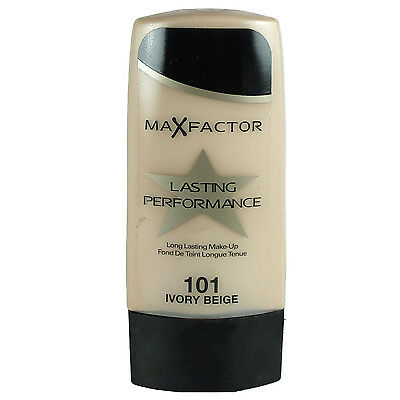 Max Factor Lasting Performance Long Lasting Make Up 101 Ivory Beige 35ml NEU&OVP