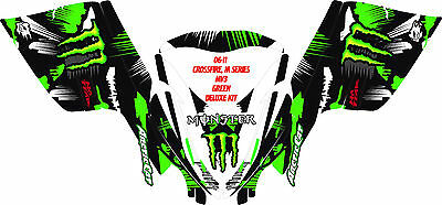 Decal Graphic Kit Arctic Cat M Series AC Crossfire Snowmobile Hood Wrap CIRCUS R