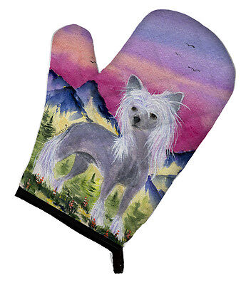 Carolines Treasures  SS8326OVMT Chinese Crested Oven Mitt