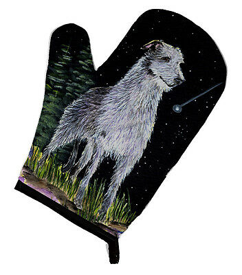 Carolines Treasures  SS8493OVMT Starry Night Scottish Deerhound Oven Mitt