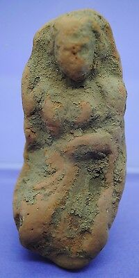 Nice ancient Greek Hellenistic period terracotta Goddess 4th-1st century BC