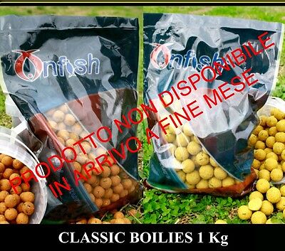 BOILIES ONFISH CLASSIC 20MM 1Kg SPEZIE INDIANE