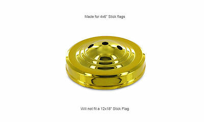 Wholesale Lot 6 Three Hole Gold Base For Desk Set Table Stick Flags
