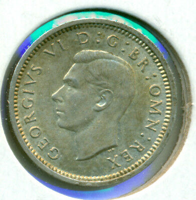 1941 Uk/gb Threepence, Almost Uncirculated, Great Price!