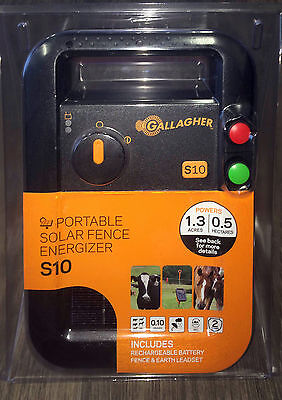 Gallagher S10 Electric Fence Portable Energiser Energizer