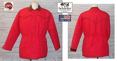 Giubbotto Giaccone giacca parka western cowboy Schaefer drifter 260 made in USA