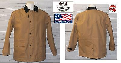 Giubbotto Giaccone giacca parka western cowboy Schaefer drifter 217 made in USA