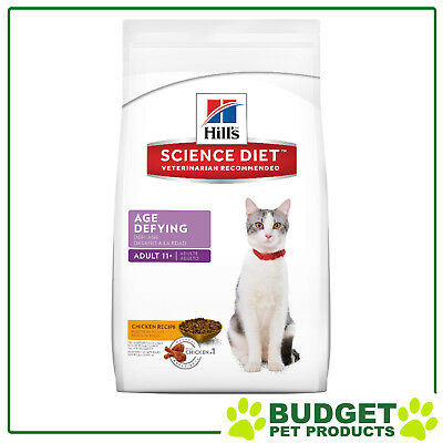 Hills Science Diet Feline Dry Age Defying For 11+ Mature/Senior Cats 7.03kg