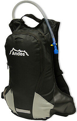 3L Black Cycling/Hiking Hydration Pack With 12L Rucksack/Backpack
